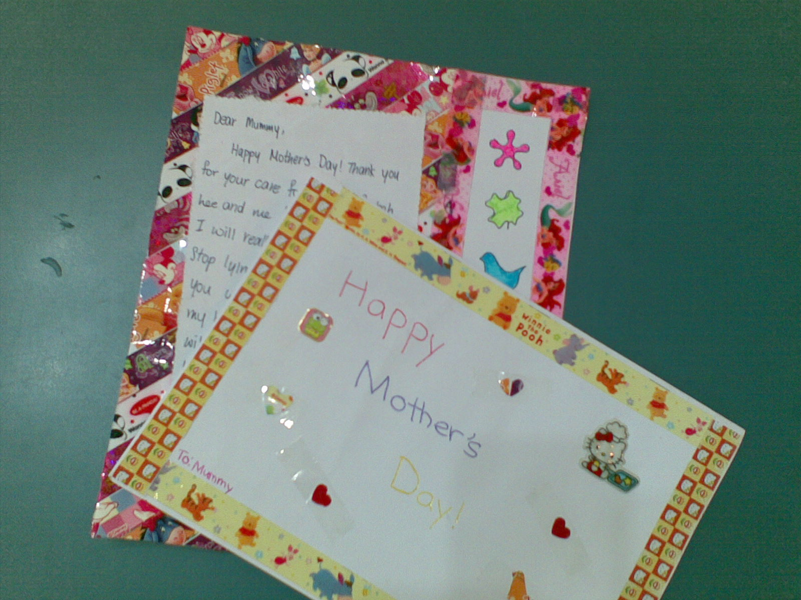 Sarin hairu and fatimah make greeting cards for mothers day sarin and hairu then folded their papers into half as both of them like to create their own folded cards fatimah likes to have her card as a large unfolded kristyandbryce Gallery
